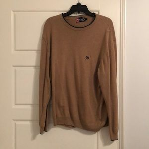 Chaps light sweater, light brown